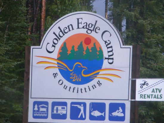 Golden Eagle Camp: Entrance to the camp