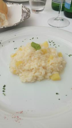 Hotel Conca Verde : risotto ananas menta