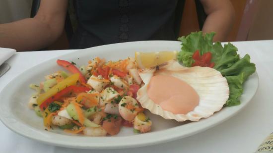 Hotel Conca Verde : pesce