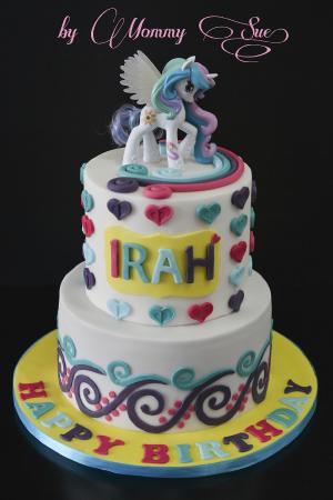 Little Girl Rd Birthday Cake Ideas