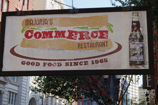 Commerce Restaurant  Camp St New Orleans La