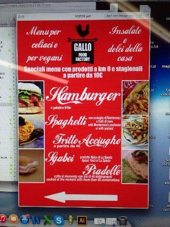 Gallo Food Factory: Cartellone definitivo  Ti aspettiamo per farti assaggiare tutte le nostre specialità e nuove pr