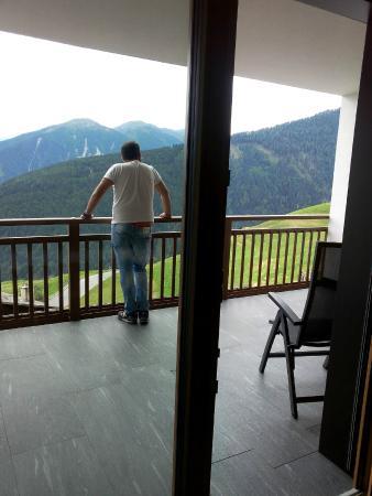 Hotel Watles: balcone della camera
