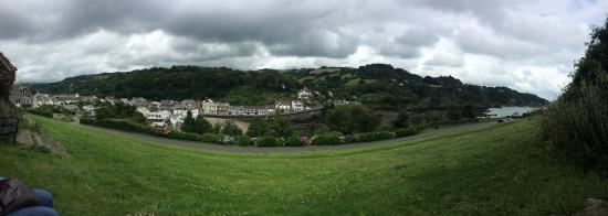 Newberry Valley Caravan & Camping Park: View of Combe Martin whilst on a walk