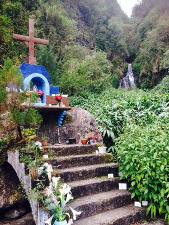 Salazie, Ilhas Reunião: At the 'les trois cascades'