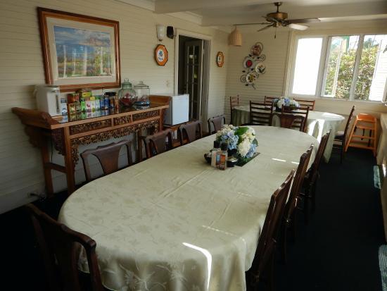 Old Wailuku Inn at Ulupono: Dining area....snacks & sodas provided