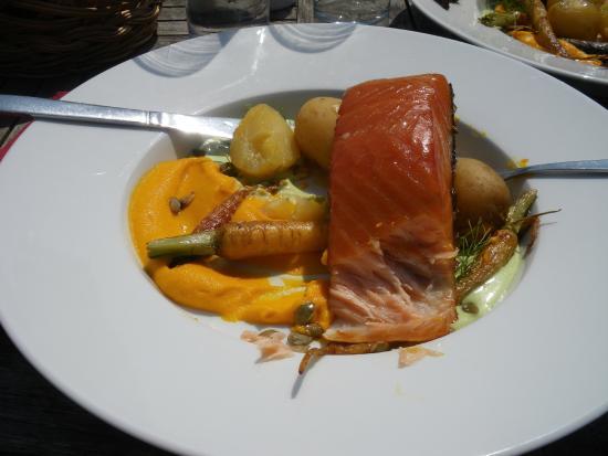 Skanor, Szwecja: excellent salmon