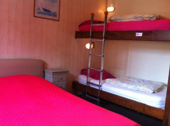 Riva Bella : Chambre 4 personnes, balcon vue mer tout confort