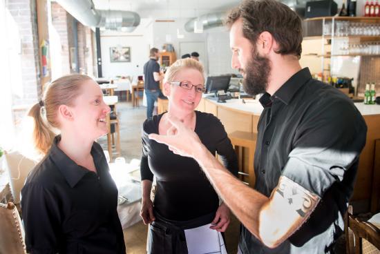 Moccasin Vin&Kaerlighet: the staff