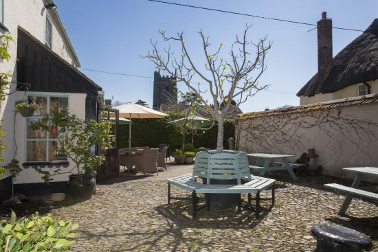 The Lazy Toad Inn: Courtyard