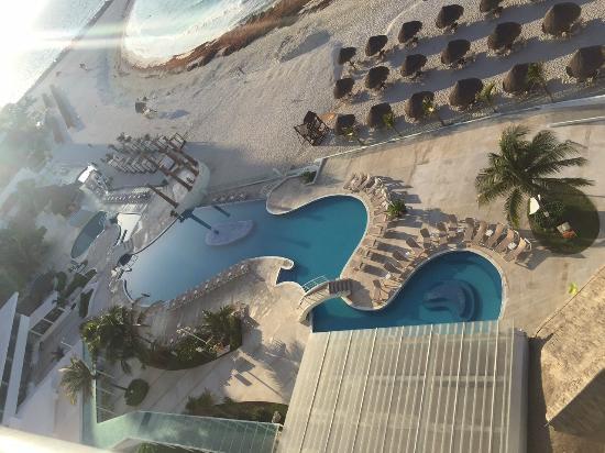 Krystal Cancun : vista