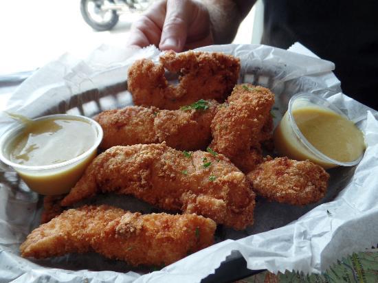 Pacific, Missouri: chicken strips