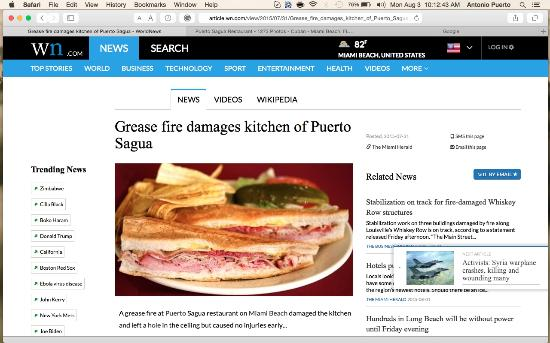Photo of Latin American Restaurant Puerto Sagua at 700 Collins Ave, Miami Beach, FL 33139, United States