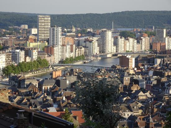 Montagne de Bueren: Jolie vue