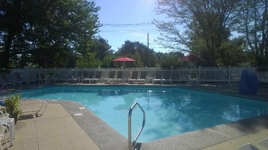 The Milestone: Pool Area