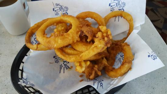 A Side Order Of Onion Rings Picture Of Russ Restaurant