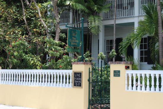 Entrance To Hotel Picture Of The Gardens Hotel Key West