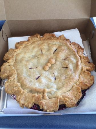 Island Bound Treats : Blueberry Pie