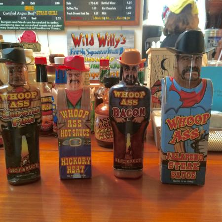 Wild Willy's Burgers: You want hot sauce, they've got hot sauce