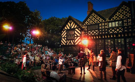 Agecroft Hall is the home of the annual Richmond Shakespeare Festival (Photo: Bruce Parker)