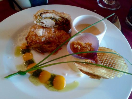 Chicken dish at annamars