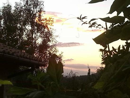 Agriturismo Le Casacce : tramonto