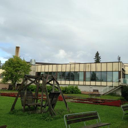 Spa Hotel Kunnonpaikka: Piha-alue