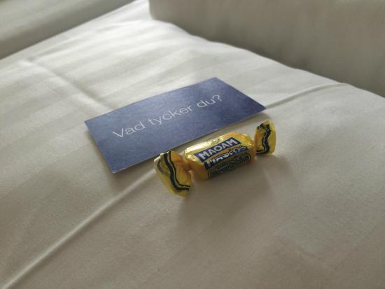 BEST WESTERN Capital Hotel: Tiny comfort