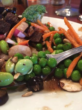 Ruby Tuesdays is one of our favorite places because of their salad bar. This one here is one of