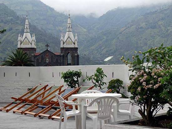 Plantas & Blanco's Hostel : Terraza