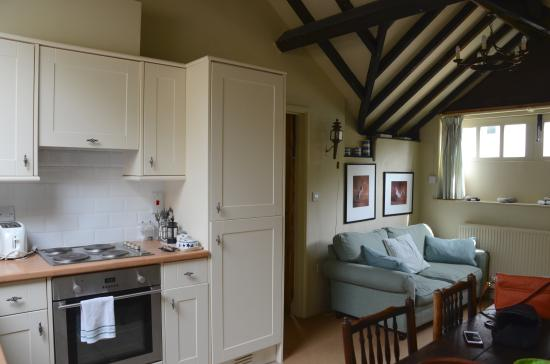 Alweston, UK: Kitchen Living room
