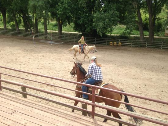Sylvan Dale Guest Ranch: Unlimited riding