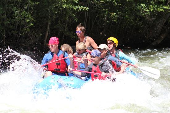 Three Rivers Resort and Outfitting: Rafting on the Upper Taylor