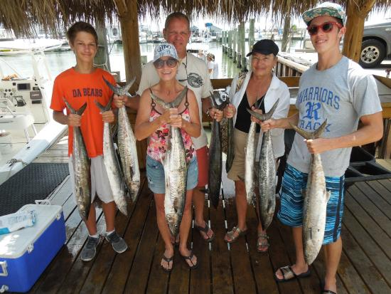 Nope these ended up in our freezer picture of get for Get hooked fishing charters