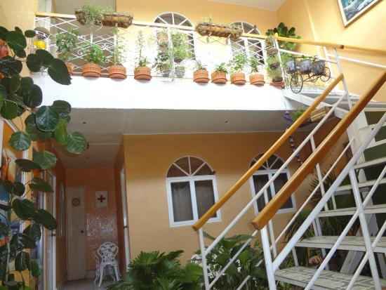 Hotel Dulce Hogar: Vista interna