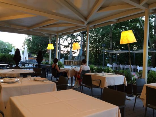 Park Hotel Ai Cappuccini: La bellissima terrazza estiva dei Cappuccini