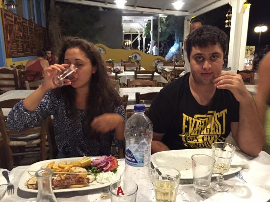 Meteora Restaurant: Si Mangia dopo avere danzato