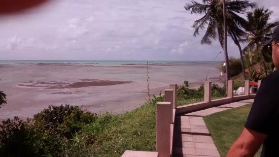Japaratinga Beach: Na maré baixa a praia fica mais longe!