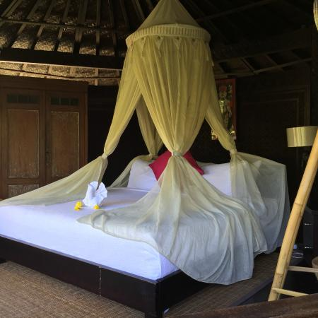Samplangan, Indonezja: Very special room.  We did not stay here but its so beautiful
