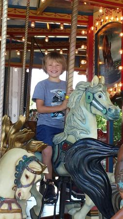 North Bay Heritage Train and Carousel: Summer 2015
