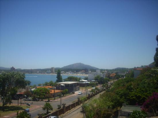 San Remo Terrazas Hotel: Comenzando un lindo día desde la terraza del hotel.
