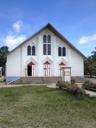Tarawa Atoll, Republic of Kiribati: Kirche