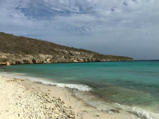 Cas Abao Beach: Good Snorkeling near Rocks to the left