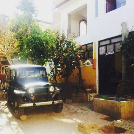 Wasi Masi Casa de Huespedes: Near the laundry service