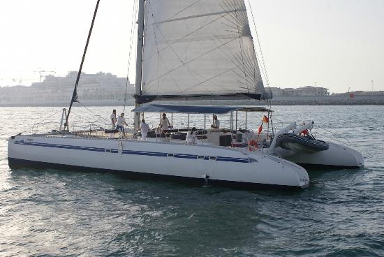 Katamaran sport  Catamaran cruise around palm islands - Picture of Sea Hunters ...