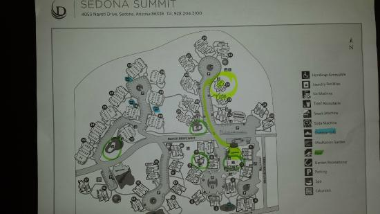 Property Map- View Bldgs. 24-27 & 39-41 - Picture of Sedona Summit on