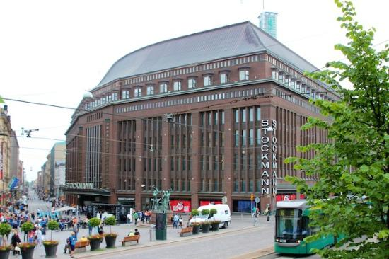 Stockmann Helsinki Laukut : Stockmann bild fr?n s department store