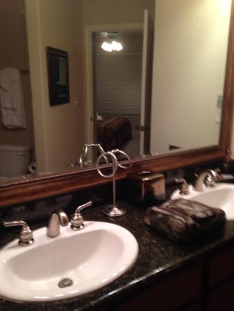 Bella Piazza Condominiums: His and her sink
