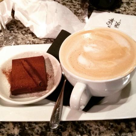 Chocolate Torte And Baileys Latte Mini Dessert Picture Of