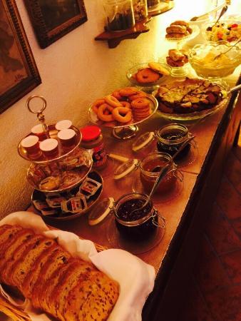 Bed & Breakfast Via Francigena: L'ottima colazione